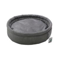 Smart Round (Yuvarlak) Kedi Yatağı Gri