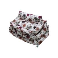 Smart Soft Köpek Yatağı Bordo Lilyum No: 3