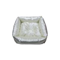 Smart Kare Puff Kedi Yatağı Krem 55X55 Cm