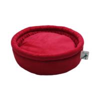 Smart Round (Yuvarlak) Kedi Yatağı Kırmızı