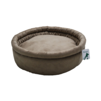 Smart Round (Yuvarlak) Kedi Yatağı Kahverengi