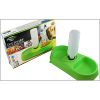 Pratik FinePet Pet Feeder Kedi ve Köpek için Yemek Su Kabı