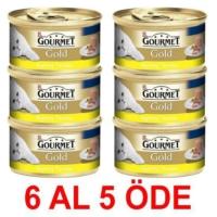 Gourmet Gold Kiyilmiş Tavuklu Konserve Kedi Mamasi 85 Gr. (6 Al 5 Öde)