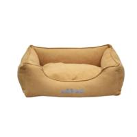 Lepus Soft Sarı Köpek Yatağı Large 65x85x20