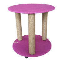 Lepus Üç Ayaklı Sehpa Kedi Tırmalama Tahtası 50 cm