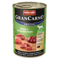 Animonda Gran Carno Sığır Etli Ve Ördek Yürekli Köpek Konservesi 400 Gr