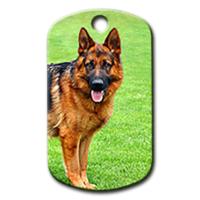 Dalis Pet Tag - Alman Kurdu Resimli Köpek Künyesi