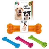 Georplast Geobone-6 Termoplastik Kauçuk Köpek Diş Bakım Oyuncağı 27.5 x 8.5 H (Cm)