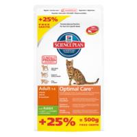 Hills Adult Tavşanli Yetişkin Kedi Maması 2 Kg + 500 Gr Entegre Paket