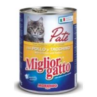 Miglior Gatto Tavuklu Hindili Pate Kedi Konservesi 400 Gr