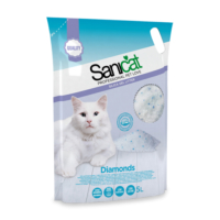 Sanicat Diamonds Silika Kedi Kumu 5 Lt