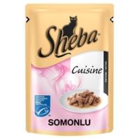 Sheba Cuisine Somonlu Konserve Kedi Maması 85 Gr
