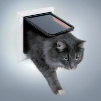 Trixie 4 Yönlü Kilitlenebilir Kedi Kapısı 24 x 24 Cm