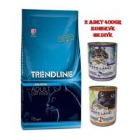 Trendline Somonlu Yetişkin Kuru Kedi Maması 15 Kg