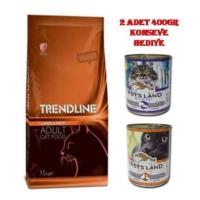 Trendline Kuzu Etli Yetişkin Kuru Kedi Maması 15 Kg