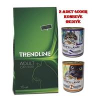 Trendline Adult Cat Food Yetişkin Kuru Kedi Maması 15Kg