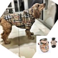 Kemique Büyük Irk - Ekose- Poof By Kemique - Köpek MontuKöpek Paltosu - Köpek Kıyafeti