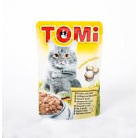 TOMI Pouch Tavşanlı ve Kanatlı Kedi Maması -100 Gr 20'li