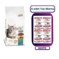 Reflex Multi Color Yetişkin Kuru Kedi Maması 15 Kg + 4 Adet Almo Nature Yaş Mama Hediyeli