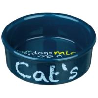 Kedi İçin Porselen Mama ve Su Kapları 0,3lt/11cm