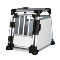 Trixie köpek taşıma alüminyum kafesi, 48x57x64 cm
