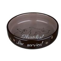 Trixie Kedi Porselen Mama/Su Kabı 0,3Lt/15Cm