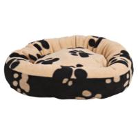Trixie pati desenli köpek yatağı 50cm siyah-bej