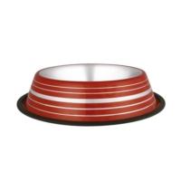 Oripet Renkli Desenli Çelik Köpek Mama Kabı 64 Oz