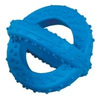 Lastik Sarmal Köpek Oyuncağı (Mavi) 10 Cm