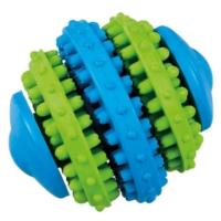 Lastik Top Köpek Oyuncağı (Yeşil/Mavi) 7,6 Cm