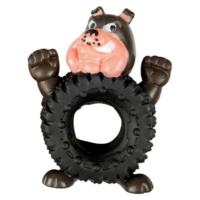 Vinil Köpek-Tekerlek Köpek Oyuncağı 12,5 Cm