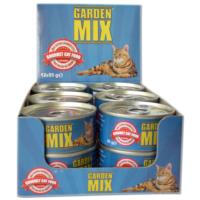 Gardenmix Tavuklu Kırmızı Ton Balıklı Mama 85 Gr ( 12Adet )