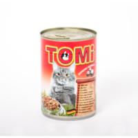 Tomi Sığırlı Kedi Konservesi 400 gr