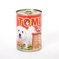 Tomi Sığırlı Köpek Konservesi 400 gr