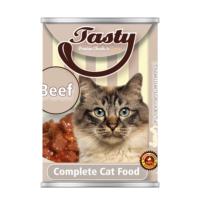 Tasty Biftekli Kedi Konserve Yaş Maması 415 GR