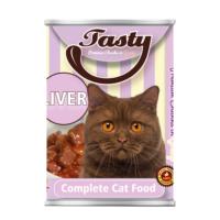 Tasty Ciğerli Kedi Konserve Yaş Maması 415 GR