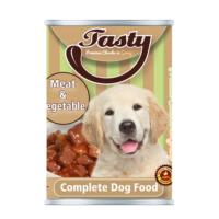 Tasty Etli Sebzeli Köpek Konserve Yaş Maması 415 GR
