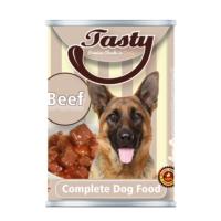 Tasty Biftekli Köpek Konserve Yaş Maması 415 GR