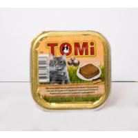 Tomi Alüminyum Paket Hindi Etli Kedi Konserve 100 Gr