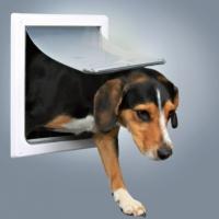 Trixie Köpek Kapısı 2 Yollu S–M Beyaz