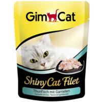 Gımcat Shınycat Pouch Tuna Balıklı Karidesli Kedi Maması 70Gr
