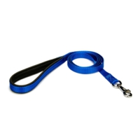 Doggie Dokuma Softlu Gezdirme Kayışı Mavi 1,5 X 150Cm