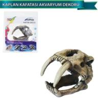 Dophin Akvaryum Dekoru Yapay Kaplan Kafatası