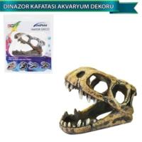 Dophin Akvaryum Dekoru Yapay Dinazor Kafatası