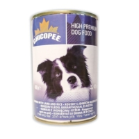 Chicopee Kuzu Eti Parçacıklı Ve Pirinçli Köpek Konserve Maması 400 Gr