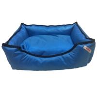 Lepus Blue Su Geçirmez Köpek Yatağı Large 65X85X20 Cm