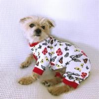 Kelebek - Summer Tulum By Kemique - Köpek Tulumu - Yazlık Köpek Kıyafeti - Köpek Elbisesi