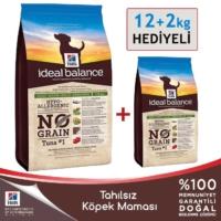 Hills İdeal Balance Tahılsız Ton Balıklı Patatesli Yetişkin Köpek Maması 12 Kg (+2 Kg Hediyeli)