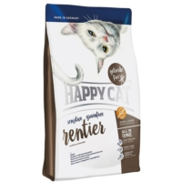 Happy Cat Sensitive Ren Geyikli Tahılsız Yetişkin Kedi Maması 4 Kg