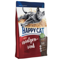 Happy Cat Supreme Voralpen Rind Biftekli Yetişkin Kedi Maması 1.4 Kg